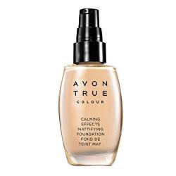 Zklidňující make-up s matující složkou True Colour (Calming Effects Mattifying Foundation) 30 ml