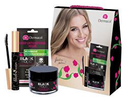 Darčeková sada kozmetiky s antioxidačnými účinkami Black Magic