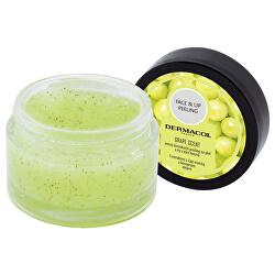 Detox ikační cukrový peeling na tvár a pery ( Detox ifiying Face and Lip) 50 g