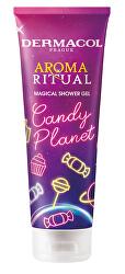 Magický sprchový gel Aroma Ritual Candy Planet (Magical Shower Gel) 250 ml