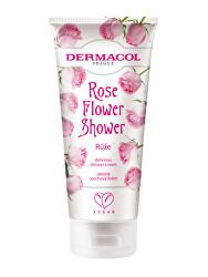 Opojný sprchový krém Růže Flower Shower (Delicious Shower Cream) 200 ml