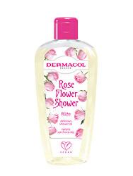 Opojný sprchový olej Růže Flower Shower (Delicious Shower Oil) 200 ml