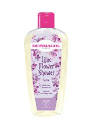 Opojný sprchový olej Šeřík Flower Shower (Delicious Shower Oil) 200 ml