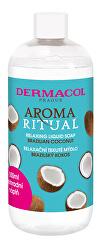 Relaxační tekuté mýdlo Aroma Ritual Brazilský kokos (Relaxing Liquid Soap) - náhradní náplň 500 ml