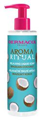 Relaxační tekuté mýdlo Aroma Ritual Brazilský kokos (Relaxing Liquid Soap) 250 ml