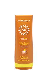 Loțiune de plajă hidratantă si rezistentă la apă SPF 50(Water Resistant Sun Milk) 200 ml