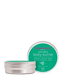 Zklidňující vyživující tělové máslo s konopným olejem Cannabis (Body Butter) 75 ml