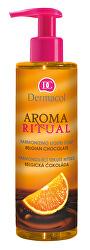 Harmonizující tekuté mýdlo Belgická Čokoláda s Pomerančem Aroma Ritual (Harmonizing Liquid Soap)