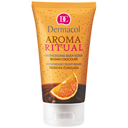 Harmonizující tělový peeling Belgická Čokoláda s Pomerančem 150 ml