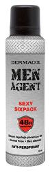 Antiperspirant Men Agent Sexy Sixpack 150 ml