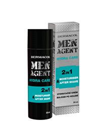 Hydratačný gélový krém a balzam po holení Men Agent (Moisturiser After Shave) 50 ml