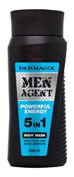 Sprchový gel pro muže 5v1 Powerful Energy Men Agent (Body Wash) 250 ml