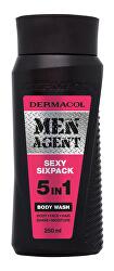 Sprchový gel pro muže 5v1 Sexy Sixpack Men Agent (Body Wash) 250 ml