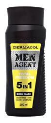 Sprchový gel pro muže 5v1 Total Freedom Men Agent (Body Wash) 250 ml