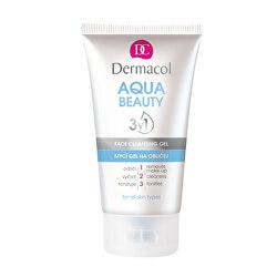 Mycí gel na obličej s mořskými řasami Aqua Beauty 3v1 (Face Cleansing Gel) 150 ml