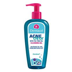 Odličovací gel pro problematickou pleť Acneclear (Cleansing Gel) 200 ml