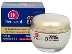 Omladzujúci kaviárový denný krém SPF 10 (Gold Elixir Day Cream) 50 ml