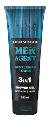 Sprchový gel pro muže 3v1 Gentleman Touch Men Agent (Shower Gel) 250 ml