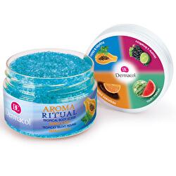 Tropický tělový peeling Aroma Ritual Papája a máta (Tropical Body Scrub) 200 g