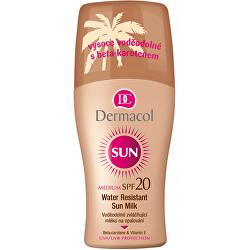 Wasserfeste, geschmeidig machende Sprühlotion SPF 20 Sun (Water Resistant Sun Milk) 200 ml
