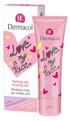 Upokojujúci a zjednocujúci krém pre mladú pleť s vôňou hrušky a melónu Love My Face (Soothing Cream) 50 ml