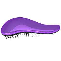 Kartáč na vlasy s rukojetí Metalic Purple