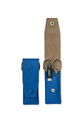 Cestovní manikúrová sada 3 dílná modrá PL891