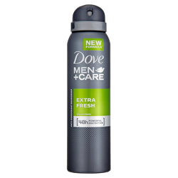 Antiperspirant ve spreji Men+Care Extra Fresh 150 ml