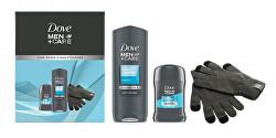 Kosmetická sada s rukavicemi Men+Care Clean Comfrot