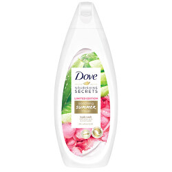 Sprchový gel s vůní aloe vera a růžové vody Soothing Summer Ritual (Body Wash) 500 ml
