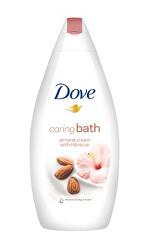 Krémová pěna do koupele s mandlovým krémem a ibiškem (Caring Bath) 500 ml