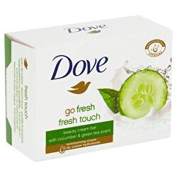 Krémová tableta Go Fresh Fresh Touch s vůní okurky a zeleného čaje (Beauty Cream Bar) 100 g