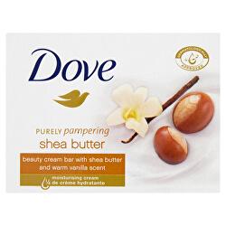 Krémová tableta Purely Pampering s vůní bambuckého másla a vanilky (Beauty Cream Bar) 100 g