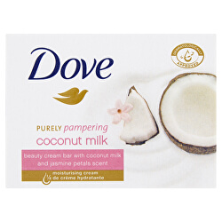 Krémová tableta Purely Pampering s vůní kokosového mléka a jasmínu (Beauty Cream Bar) 100 g