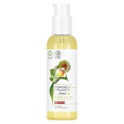 Olej na vlasy a tělo Pelargonie Powered by Plants Geranium (Body and Hair Oil) 100 ml