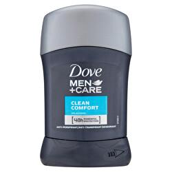 Tuhý deodorant Men+Care Clean Comfort 50 ml