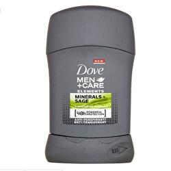 Tuhý deodorant pro muže Elements Minerals & Sage Men+Care 50 ml