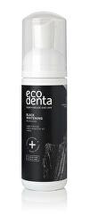 Bělicí pěnová ústní voda s černým uhlím Black Charcoal (Whitening Oral Care Foam) 150 ml