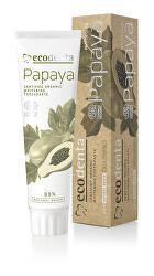 BIO bieliaca zubná pasta s výťažkom z papáje (Certified Organic Whitening Toothpaste) 100 ml