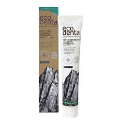 Pasta organică neagră de albire a dinților Jungle Fruits(Charocal Whitening Toothpaste 75 ml