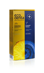 Sada zubních past Pineapple mornings & Bilberry Nights 2 x 100 ml