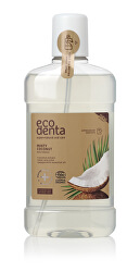 Ústní voda s kokosovým výtažkem Cosmos Organic (Minty Coconut Mouthwash) 500 ml