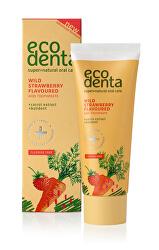 Zubní pasta s jahodovou příchutí pro děti (Wild Strawberry Scented Toothpaste For Children) 75 ml