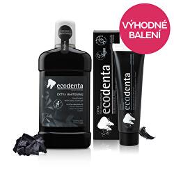 Balsam extra-lichid + pastă de dinți de albire negru