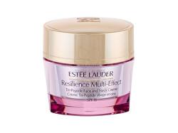 Vyživující krém na obličej a dekolt pro suchou pleť SPF 15 Resilience Multi-Effect (Tri Peptide Face And Neck Creme) 50 ml