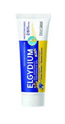 Gelová zubní pasta s fluorinolem a příchutí banánu pro děti 2-6 let Kids 50 ml