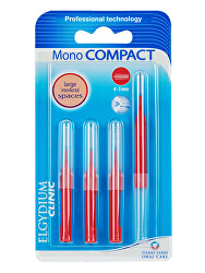 Mezizubní kartáčky červené Mono Compact (4-3 mm) 4 ks