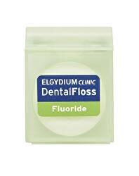 Voskovaná dentální nit s fluoridem Clinic 35 m