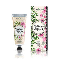 Hydratační a vyživující krém na ruce Moringa Roses (Hand Cream) 75 ml