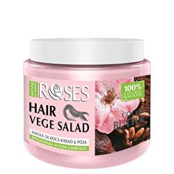 Vitalizační maska na vlasy Roses Vege Salad (Hair Mask) 500 ml